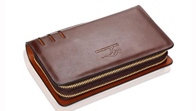 c54906543de99 Duży portfel męski KANGAROO KINGDOM skóra naturalna 2 kolory